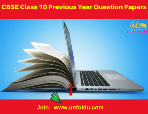 Get the CBSE solved question paper for class 10 fully solved by Unfoldu. We have qualified and experienced faculty to prepare these CBSE question paper class 10. Unfoldu provides the all CBSE online study material for all classes. Sign up today to get the solved paper https://goo.gl/RxrcHS